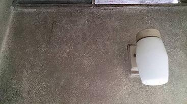 浴室のカビを除去しました
